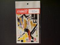 "STUDIO27【DC-265】1/24 ニッサンスカイライン GTR""FUJITSUBO""N1'99"