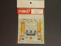 """STUDIO27【DC-424C】1/24 プジョー206""""HAVOLINE""""'01"""