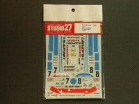 """STUDIO27【DC-455C】1/24 ポルシェ962C""""BLAUPUNKT"""" LM'88"""