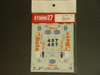"""STUDIO27【DC-495C】1/24 スバルインプレッサ WRC""""BETA"""" '01(J.アレジ)"""