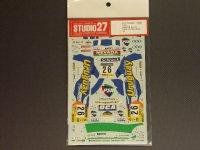 """STUDIO27【DC-498C】1/24 ミツビシランサーEvo.VI""""PSN"""" '01"""