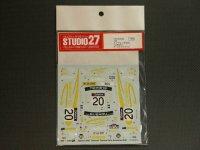 """STUDIO27【DC-532C】1/24 スバルインプレッサ WRC""""SUBARU""""オーストラリア '01"""