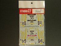 "STUDIO27【DC-534C】1/24 スバルインプレッサ WRC/WRX""SUBARU""オーストラリア '01"