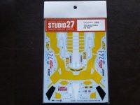 "STUDIO27【DC-567D】1/24 Lancia Stratos ""OLIO FIAT""#24 1980 Decal (H社対応)"