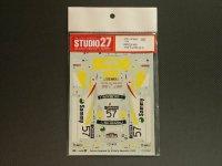 STUDIO27【DC-599C】1/24 スバルインプレッサ WRX新井オーストラリア '02