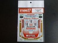 """STUDIO27【DC-637D】1/24 BMW M1""""MOTUL""""ツールドコルス'82 DECAL(Revell/ESCI社対応)"""