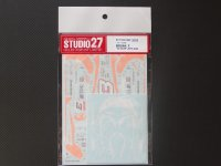 "STUDIO27【DC-744C】1/24 ニッサンフェアレディZ ""G-ZOX""JGTC'2004"