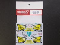 STUDIO27【DC-922】1/12 RC212V INTERWETTEN #7 MotoGP 2011 DECAL