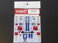 STUDIO27【DC-998】【プランC】1/24 FORD GT1 FIA-GT 2012 DECAL (simil-r社対応)