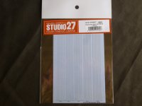 STUDIO27【FP-0037】Extremely thin Line Decal(silver)