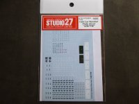 STUDIO27【FP-24201】1/24 Car Number Decal 北陸/中部