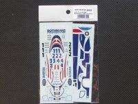 STUDIO27【SDFD-43009C】1/43 956 R 00000 ns 1982(Short tail)スペアーデカール(スタジオ対応)