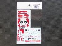 STUDIO27【SDFD-43011C】1/43 956 Canon 1983(Short tail)スペアーデカール(スタジオ対応)