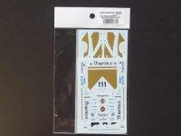 STUDIO27【SDFD-43015C】1/43 956B WARSTEINER 1983(Short tail) スペアーデカール(スタジオ対応)
