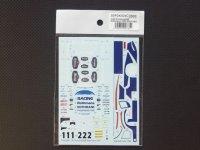 STUDIO27【SDFD-43024C】1/43 956 R 00000 ns 1983(Short tail) スペアーデカール(スタジオ対応)