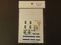 STUDIO27【SDFR-2411】FERRARI 365GTB4 LM 1973 #6スペアーデカール(スタジオ対応)