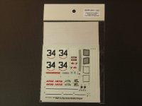 STUDIO27【SDFR-2415】FERRARI 365GTB4 LM 1972 #34スペアーデカール(スタジオ対応)