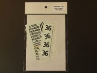 STUDIO27【SDFR-2416】FERRARI 365GTB4 LM 1972 #36スペアーデカール(スタジオ対応)