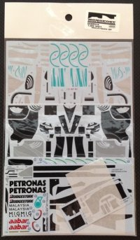 MONOPOST【SD-MP014】1/20 Mercedes GP W01 Malaysian GP 2010 - Spare Decal