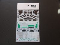 MONOPOST【SD-MP022】1/20 W03 BRAZIL GP 2012 - Spare Decal