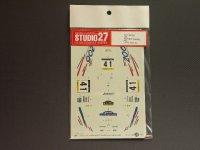 "STUDIO27【DC-350】1/24 プジョー206""#41 カタルニア'00"