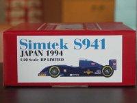 STUDIO27【NET-2029】1/20 シムテック S941 1994 日本GP