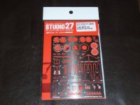 STUDIO27【FP-20149】1/20 MP4/30 Ditail Up PARTS(E社対応)