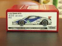 STUDIO27【TK-2464】1/24 F458 RAM Racing #52/53 LM 2014トランスキット(F社対応)