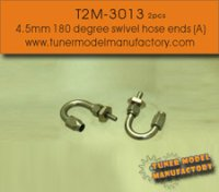 T2M【T2M-3013】4.5 mm 180 degree swivel hose ends