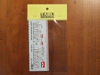 """TABU DESIGN【TABU-12004】1/12 YZR-M1""""Marlboro""""2002用タバコデカール(ミニチャンプス社対応)"""