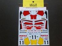 TABU DESIGN【TABU-12085】1/12 NSR500 #11 All japan / Rd.1 WGP 1989 Decal(H社対応)