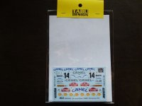 TABU DESIGN【24069】1/24 Lancia Stratos #14 Sanremo 1978 Decal (H社対応)