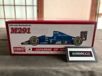 STUDIO27【FK-20340】1/20 M291 Japan GP 1991 kit