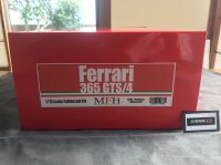 Model Factory Hiro 【K-688】1/12 Ferrari 365 GTS/4 Fulldetail Kit