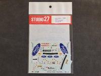 "STUDIO27【DC-401】1/24 フォードフォーカスWRC""IRIDIUM""'99"