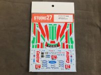 STUDIO27【DC-1220】1/24 FORD GT #67 Daytona 2019 DECAL (R社対応)
