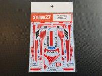 STUDIO27【DC-1222】1/24 FORD GT #66 Daytona 2019 DECAL (R社対応)