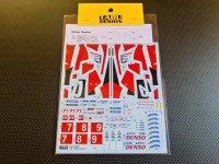 TABU DESIGN【24086】1/24 TS050 LM 2017 Decal(TAMIYA対応)