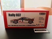 Model Factory Hiro 【K-507】1/24 Rally 037 VerD  Fulldetail Kit