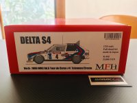 Model Factory Hiro 【K-545】1/24 DELTA S4 WRC Rd5 1986 Tour de Corse VerB  Fulldetail Kit