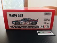 Model Factory Hiro 【K-505】1/24 Rally 037 VerB  Fulldetail Kit