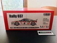 Model Factory Hiro 【K-506】1/24 Rally 037 VerC  Fulldetail Kit