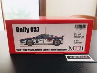 Model Factory Hiro 【K-504】1/24 Rally 037 VerA  Fulldetail Kit