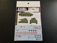 FOXMODELS【FM-D35027】1/35 T34 Decal Set (T社対応)