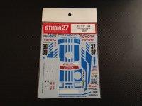 "STUDIO27【DC-907】1/24 Supra Gr.A ""Minolta"" 1987/8 Decal(T社対応)"