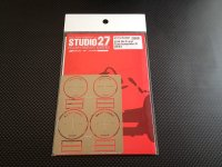STUDIO27【FP-24221】1/24 Gr.C-car  Tyre template-D