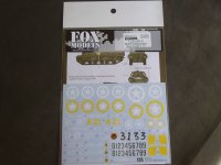 FOXMODELS【FM-D35015】1/35 M10 Mid Production Decal Set1(T社対応)