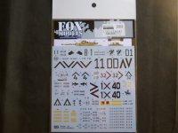 FOXMODELS【FM-D35020】1/35 アメリカM1A2戦車エイブラムス Decal Set(1) (T社対応)