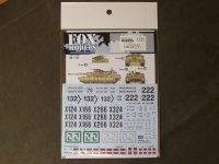 FOXMODELS【FM-D35023】1/35 アメリカM1A2戦車エイブラムス Decal Set(1) (T社対応)