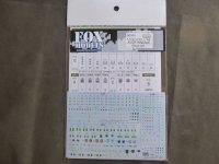 FOXMODELS【FM-D0009】1/16,1/35,1/48 JGSDF 階級章デカールセット